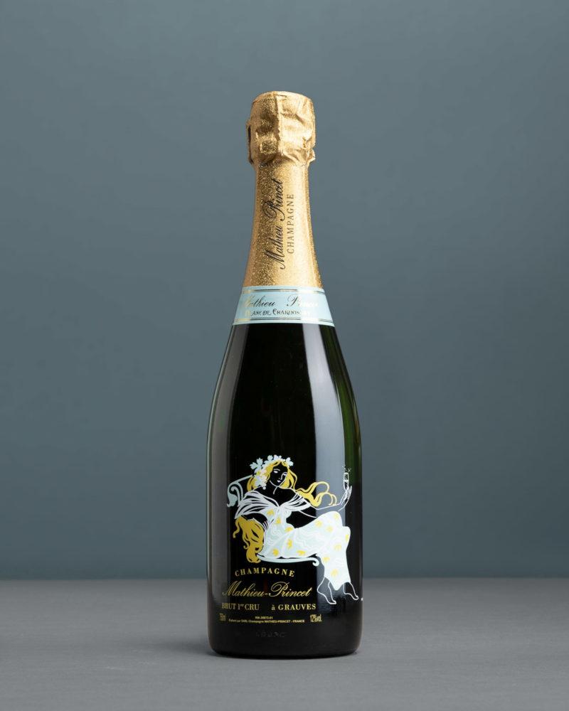 Mathieu-Princet – Blanc De Chardonnay Brut